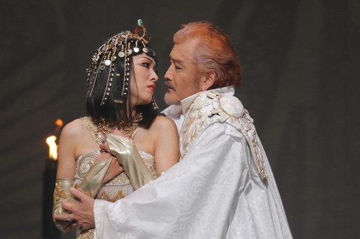 『アントニーとクレオパトラ』  撮影:清田征剛