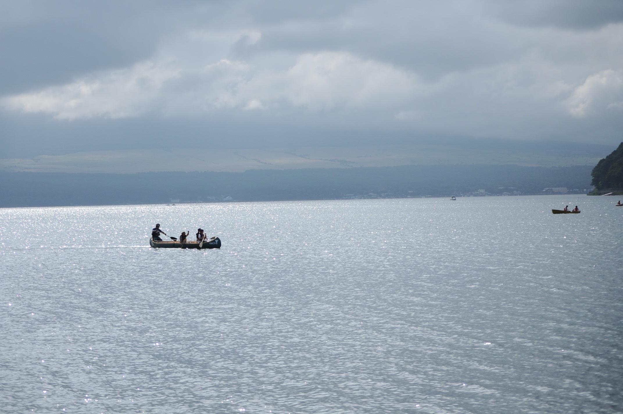 カヌー体験@山中湖