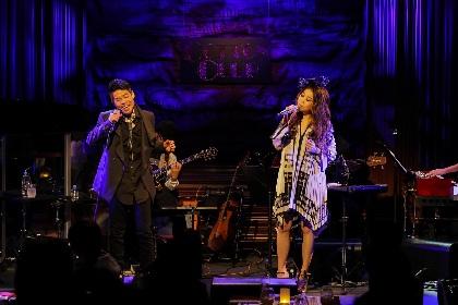 JUJUのプレミアムライブに久保田利伸がサプライズ出演、コラボ曲「Englishman In New York」をライブ初披露