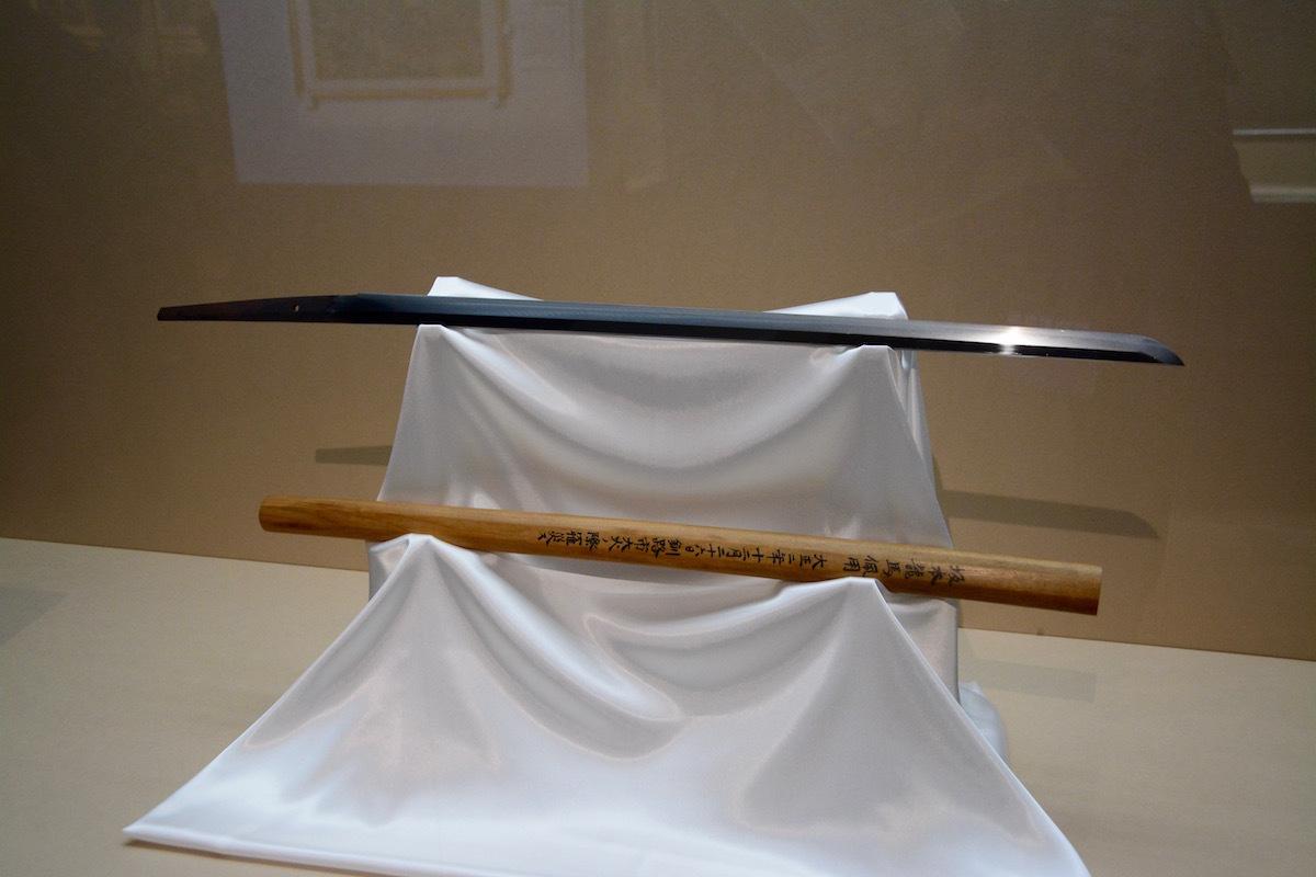 《刀 銘吉行 坂本龍馬佩用》 江戸時代(17~18世紀) 京都国立博物館蔵