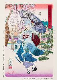 「Re:ゼロから始める異世界生活 富嶽異世界少女百景 恋夢」の浮世絵木版画第2弾と、1/8スケールフィギュアを販売