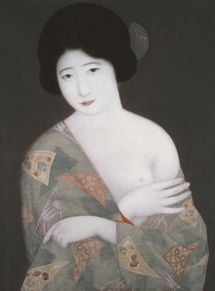 北野恒富《ポスター原画:髙島屋》昭和4年(1929) 髙島屋史料館