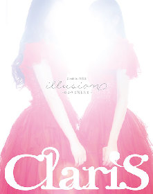 ClariS 1st写真集『illusion ~ひかりに包まれて~』の表紙を公開