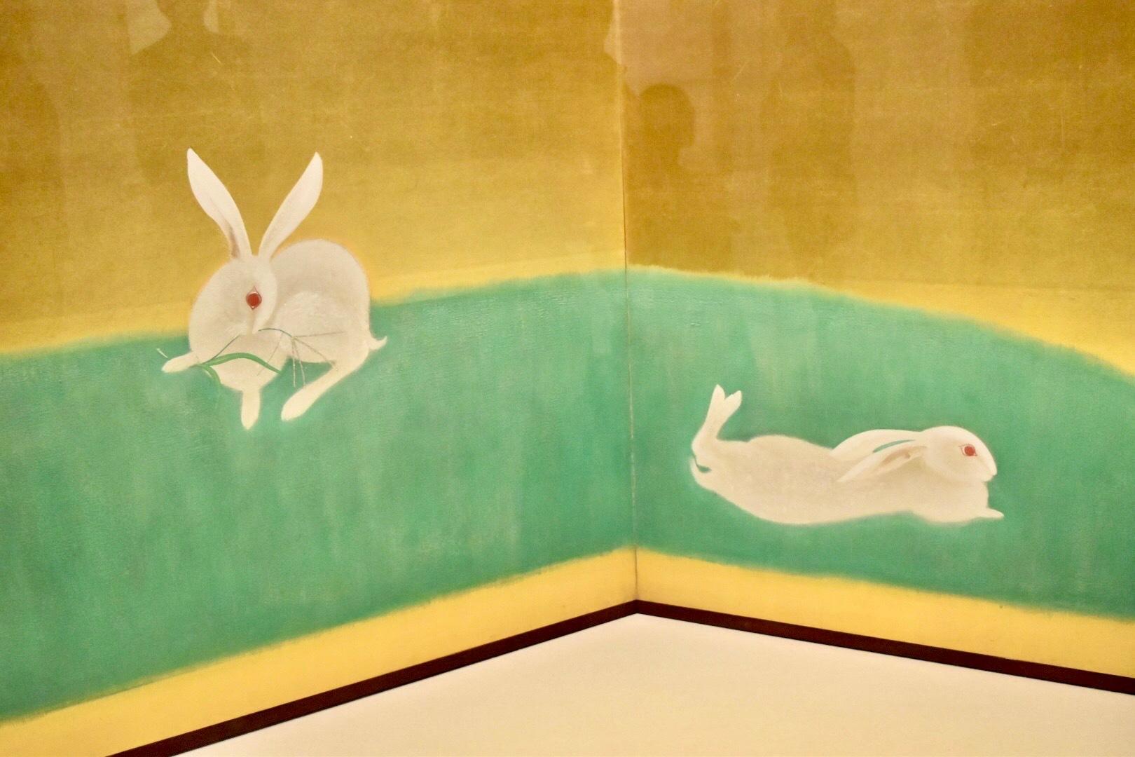 速水御舟 《翠苔緑芝》(部分) 1928(昭和3)年 山種美術館蔵