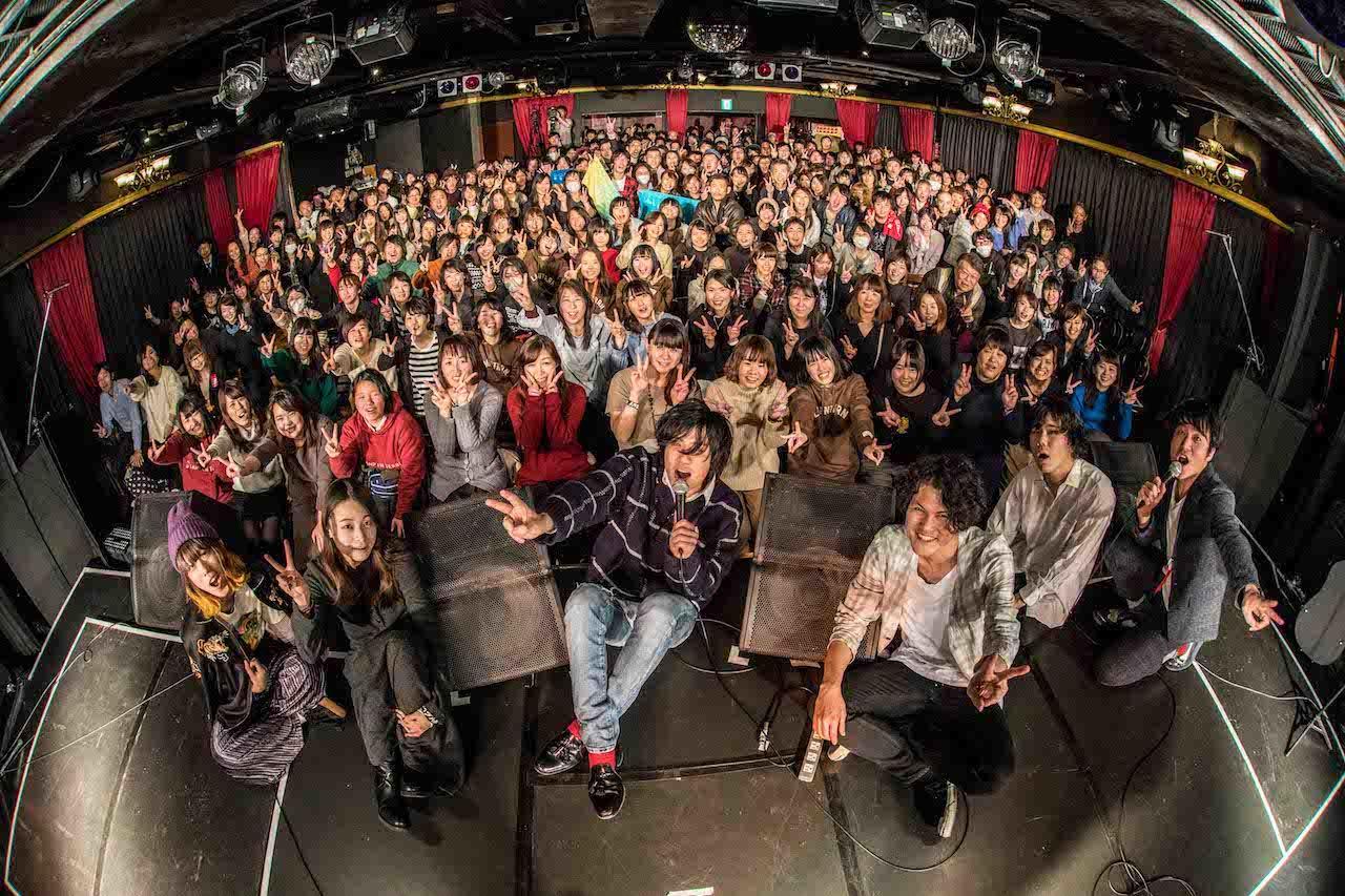 『FM802 弾き語り部 新春発表会』 撮影=渡邉 一生