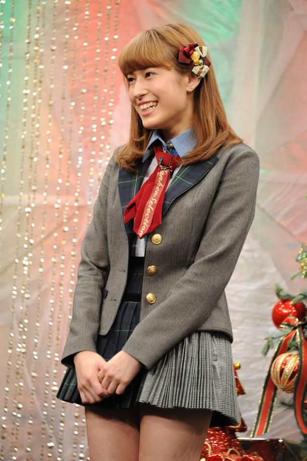 平田梨奈。写真は昨年11月に実施された「乃木坂46えいご(のぎえいご)クリスマス60分SP」公開収録の際に撮影されたもの。