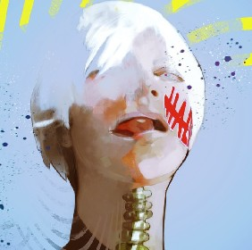 女王蜂のアヴちゃんを「東京喰種」原作者・石田スイが描き下ろし