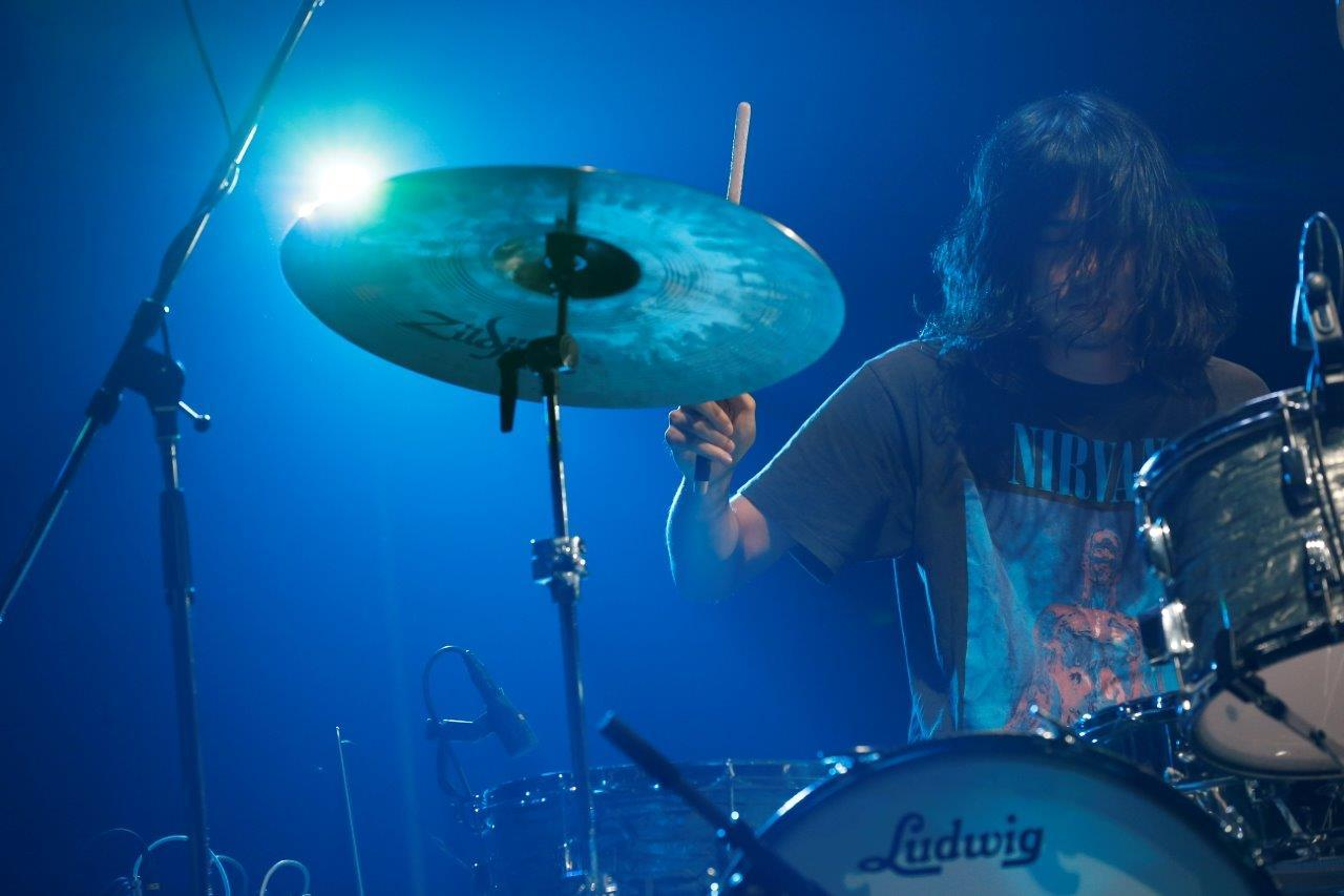 THE NOVEMBERS 撮影=岡田貴之