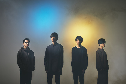 andropがニューデジタルシングル「RainMan」発売と配信ワンマンライブを同時に発表