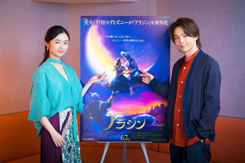 左から、木下晴香、中村倫也 (C)2019 Disney Enterprises, Inc. All Rights Reserved.
