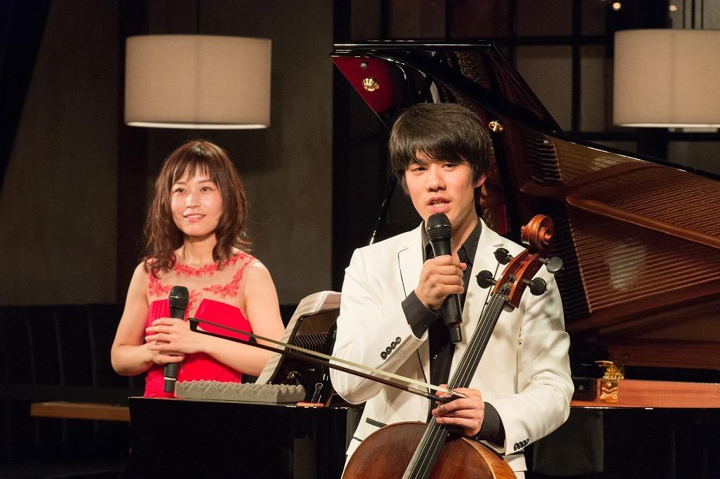 福原彰美(ピアノ)、伊藤悠貴(チェロ)
