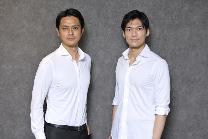 左から 田中俊太郎、大田翔