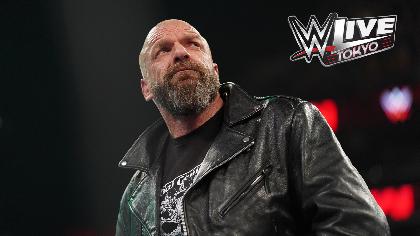 WWE Live Tokyo:トリプルHが6/28(金)に参戦!