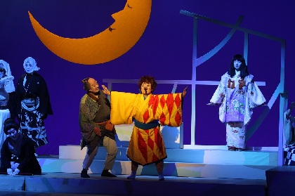 日本舞踊 未来座による=彩(SAI)=が開幕 松本幸四郎よりコメント&舞台写真が到着