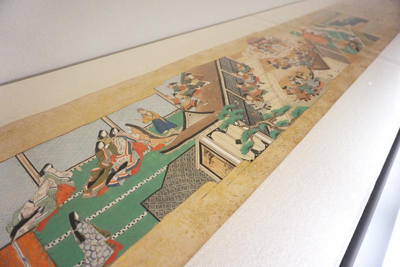 『竹取物語絵巻』 (第三巻) 江戸時代前期/巻子/33×約1440cm/所蔵:國學院大學図書館、東京