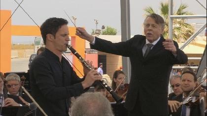 NHK・BS「ベルリン・フィルがキプロスの史跡で野外コンサート、伝説のピアニスト・ソコロフのリサイタルと併せ放映」