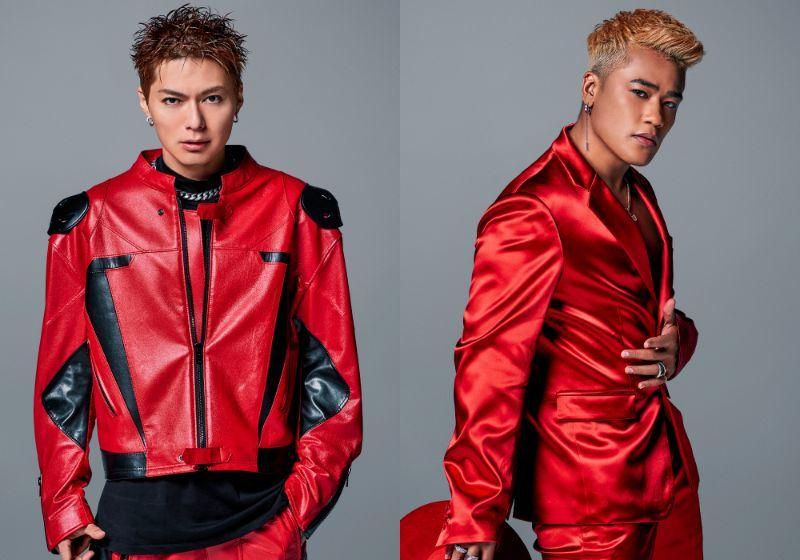 EXILE SHOKICHI&三代目J SOUL BROTHERS ELLY  (C)LDH JAPAN