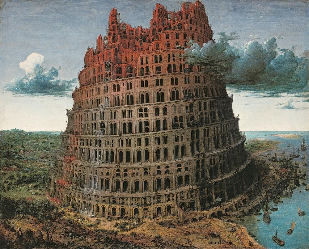 ピーテル・ブリューゲル1世《バベルの塔》 1568年頃 油彩、板 Museum BVB, Rotterdam, the Netherlands