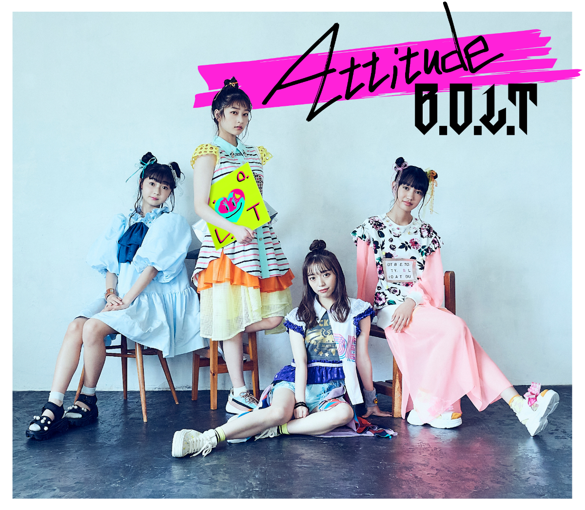『Attitude』【初回限定盤A】ジャケット