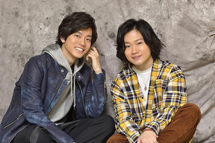 (左から)高橋健介、鳥越裕貴