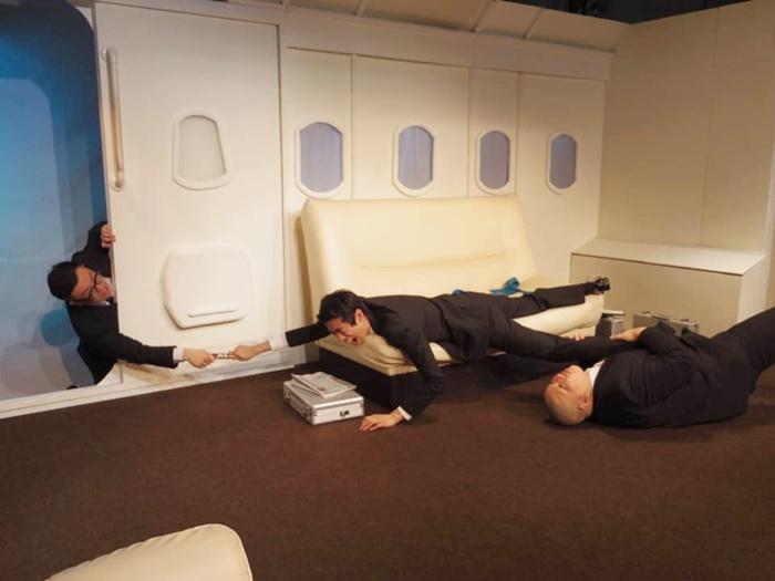 『スカイ・エグゼクティヴ』(2013年)。プライベートジェット機が舞台のビジネス劇。