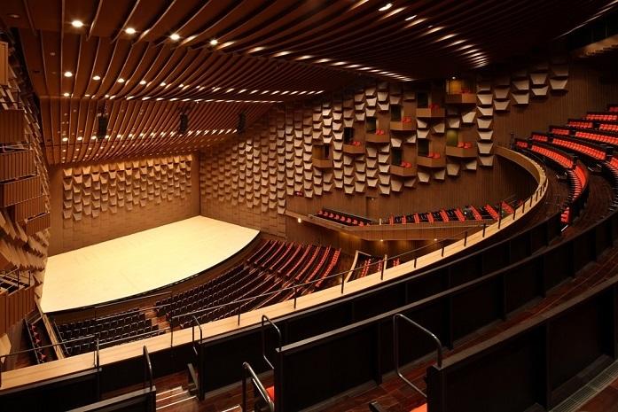 フェスティバルホール3階席より見るステージ
