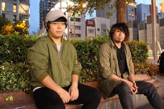 森隼人(左)・小山亮(右)