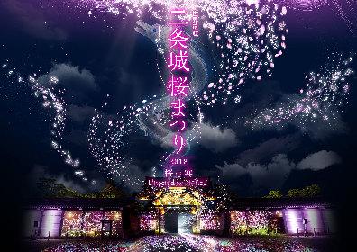 世界遺産・元離宮二条城でお花見プロジェクションマッピング 『二条城桜まつり2018-桜の宴- Directed by NAKED』