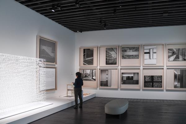 アーティゾン美術館の建築についての展示