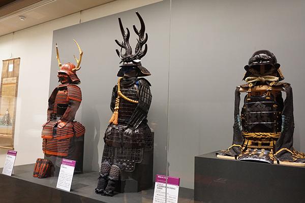 直政と共に「徳川四天王」と呼ばれた武将らの具足