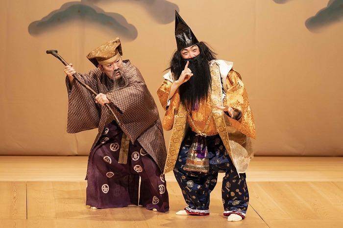 狂言劇場 その九 『法螺侍』撮影:政川慎治