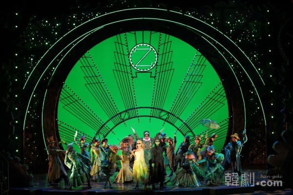 『Wicked』2013年韓国プロダクションの舞台より