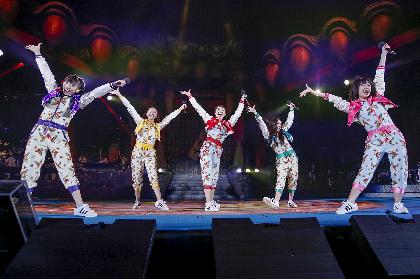 ももクロ、高木ブーも登場の『桃神祭』DAY1で新曲初パフォーマンス! 来春の富士見市第2運動公園ライブも発表