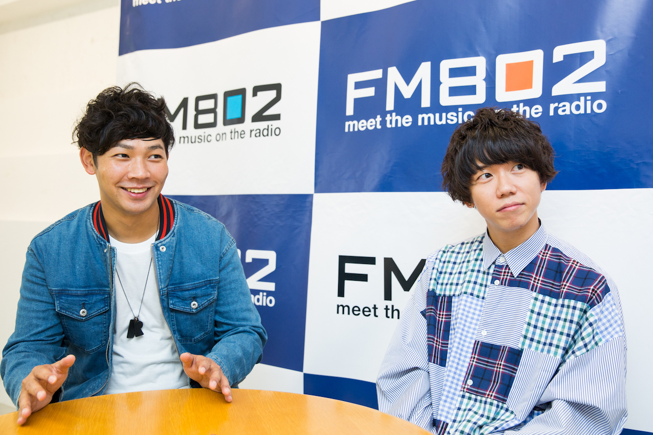 左:Rover(ベリーグッドマン) 右:片岡健太(sumika) 撮影:森好弘
