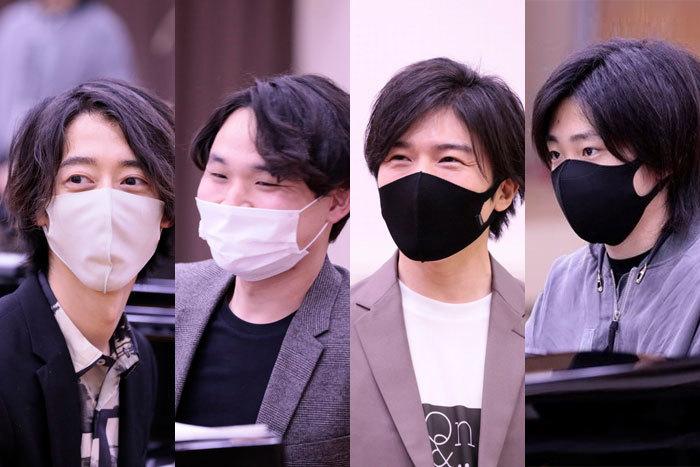 左から 角野隼斗、髙木竜馬、大井健、紀平凱成