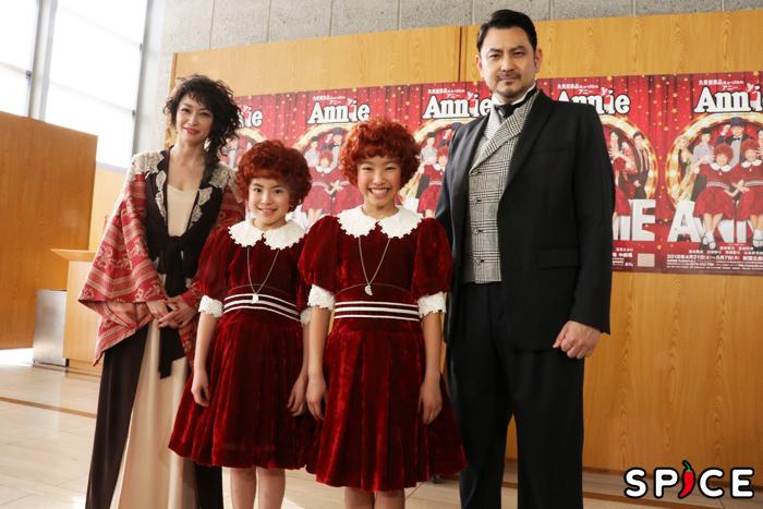 (左から)辺見えみり、新井夢乃、宮城弥榮、藤本隆宏