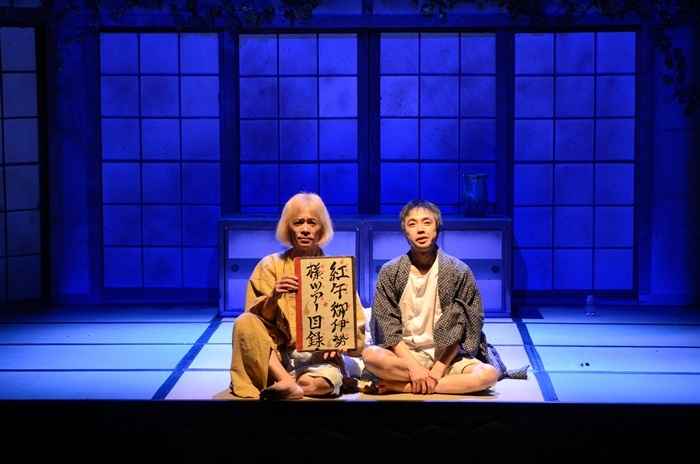 KUDAN Project『真夜中の弥次さん喜多さん』より。 [撮影]山崎のりあき