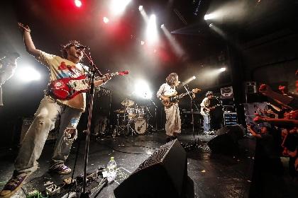 """TENDOUJIが""""東京インディー・シーンきっての愛されバンド""""たる所以を『BUBBLE POPS』リリースパーティにみた"""
