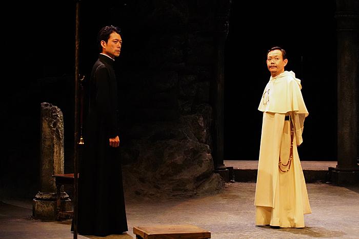 (左から)神農直隆、近藤芳正 撮影:宮川舞子