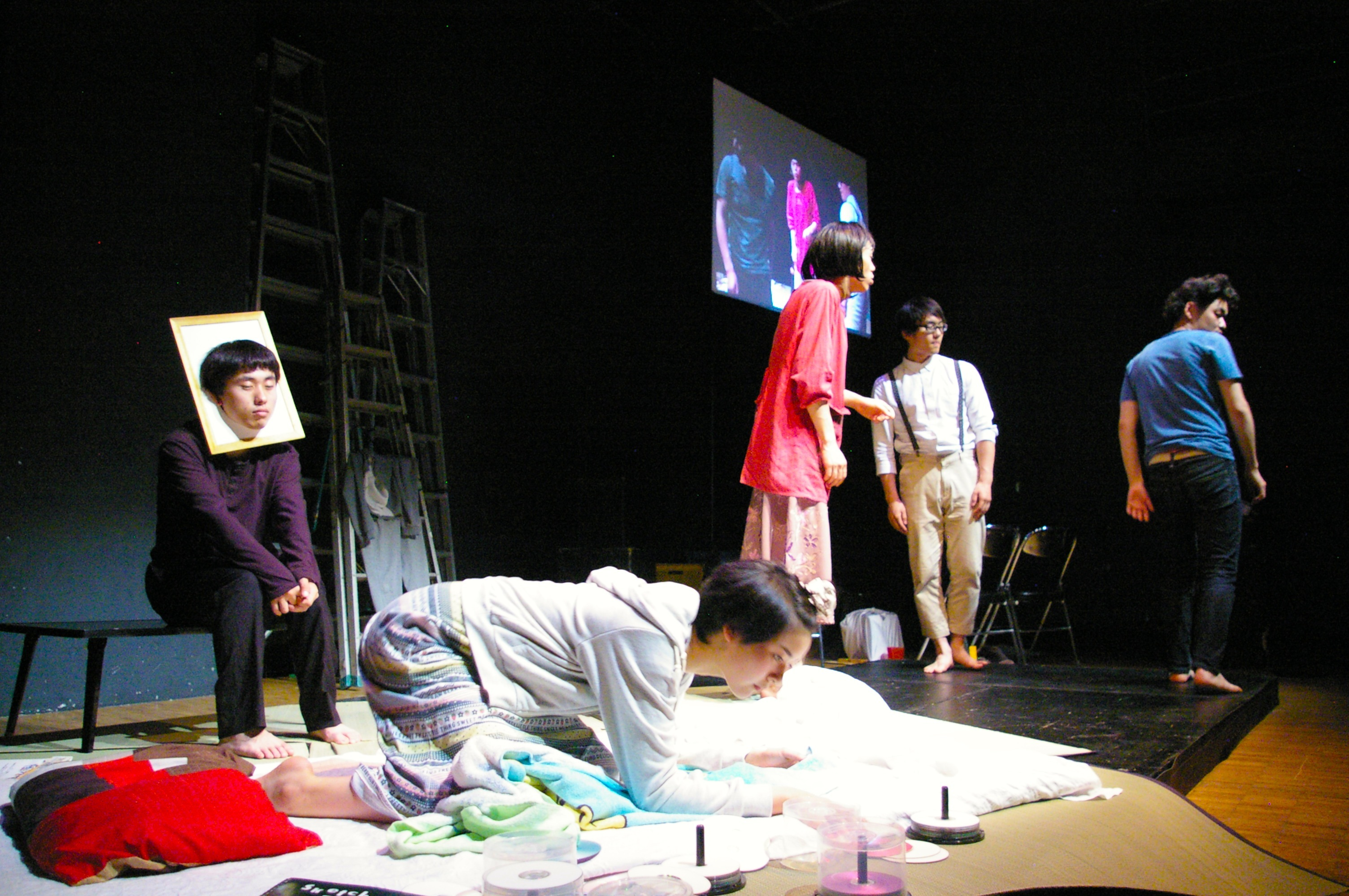 (劇)ヤリナゲ『非在』 提供:(劇)ヤリナゲ