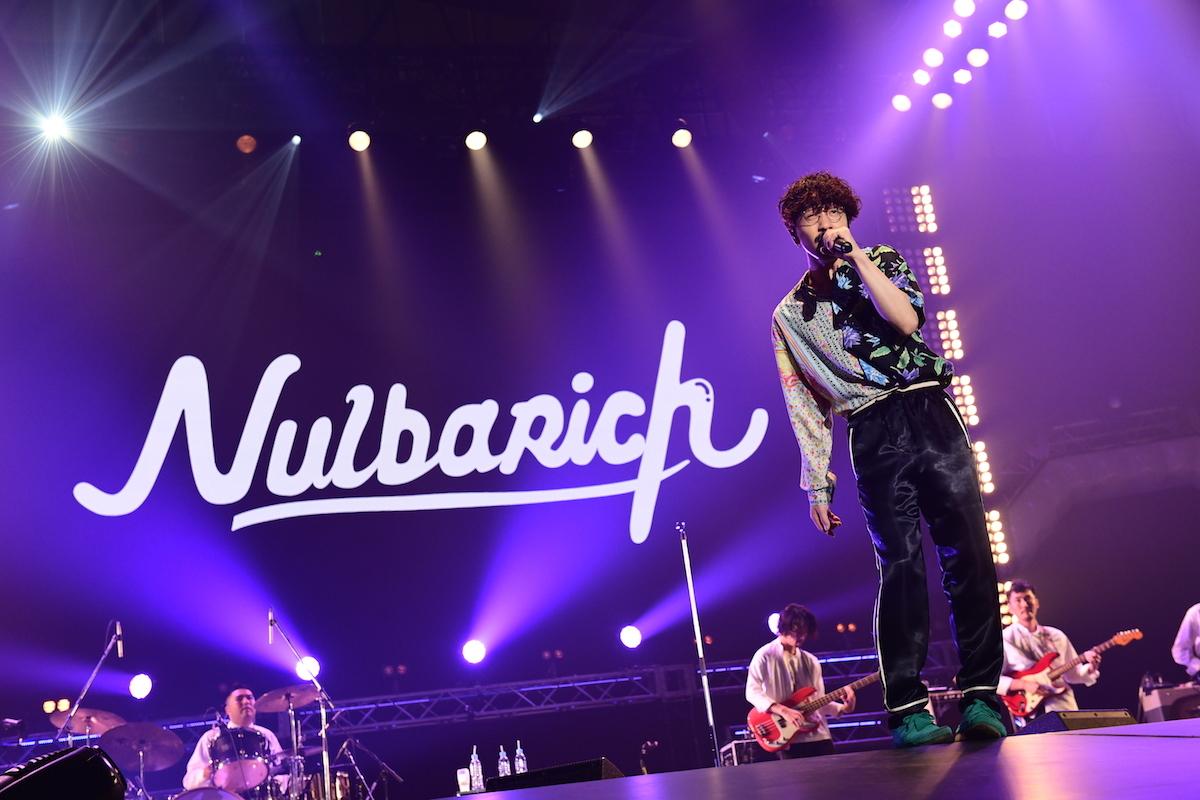 Nulbarich  ©テレビ朝日 ドリームフェスティバル 2018 / 写真:岸田哲平