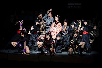 ももいろクローバーZ、明治座に初見参 歌・ダンス・芝居に殺陣と大活躍な、明治座『ももクロ一座特別公演』開幕