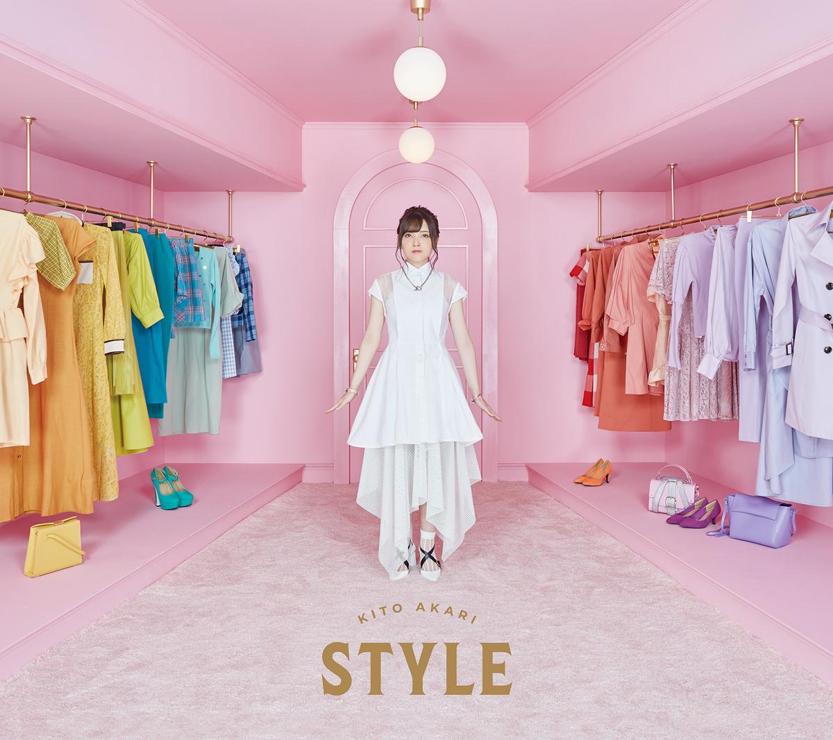 鬼頭明里1stアルバム「STYLE」初回限定盤