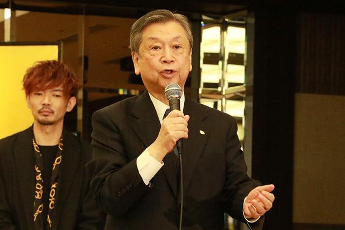 松竹株式会社代表取締役副社長・安孫子正