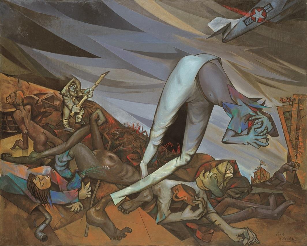《僕らを傷つけたもの 1945年の記憶》1954年 板橋区立美術館