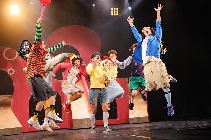 梅棒、第10回公演は笑って笑ってちょっと泣ける昭和・平成への讃歌 『OFF THE WALL』が開幕