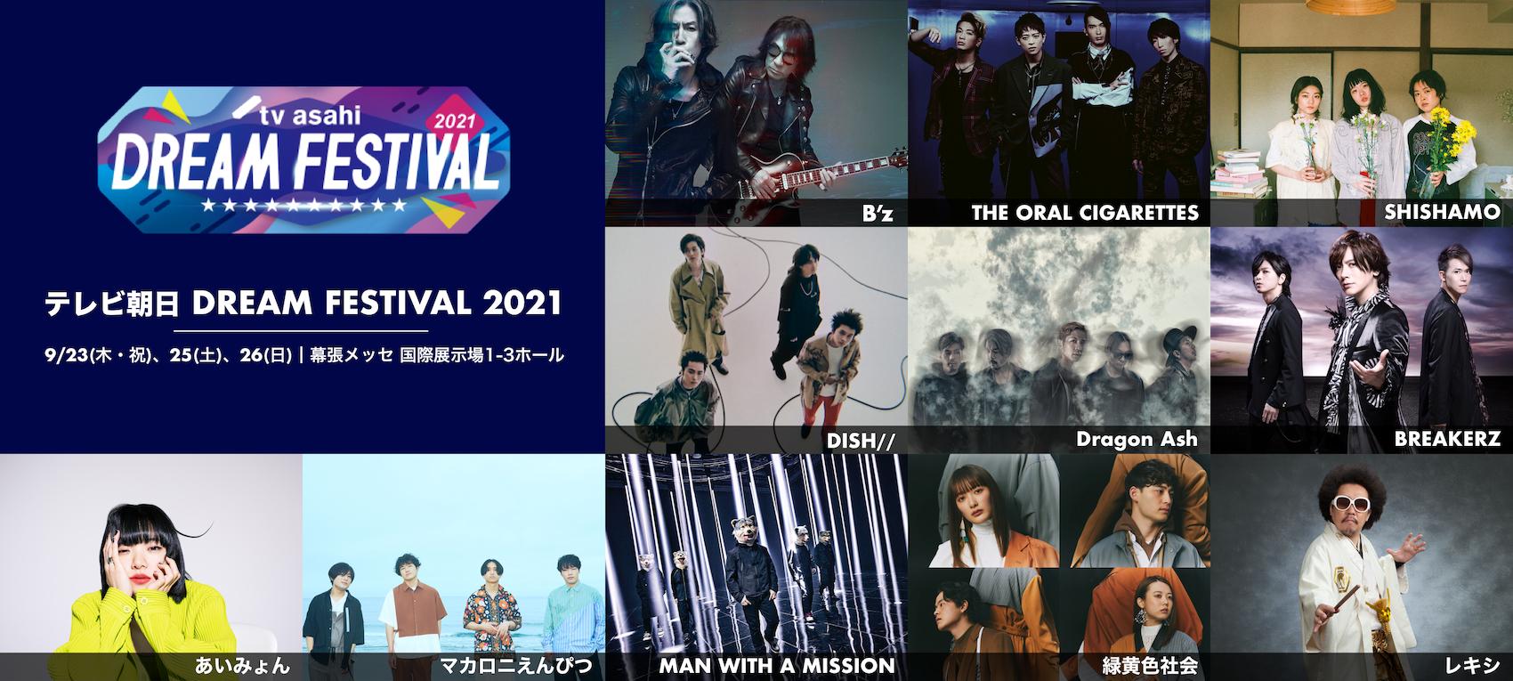 『テレビ朝日ドリームフェスティバル2021』