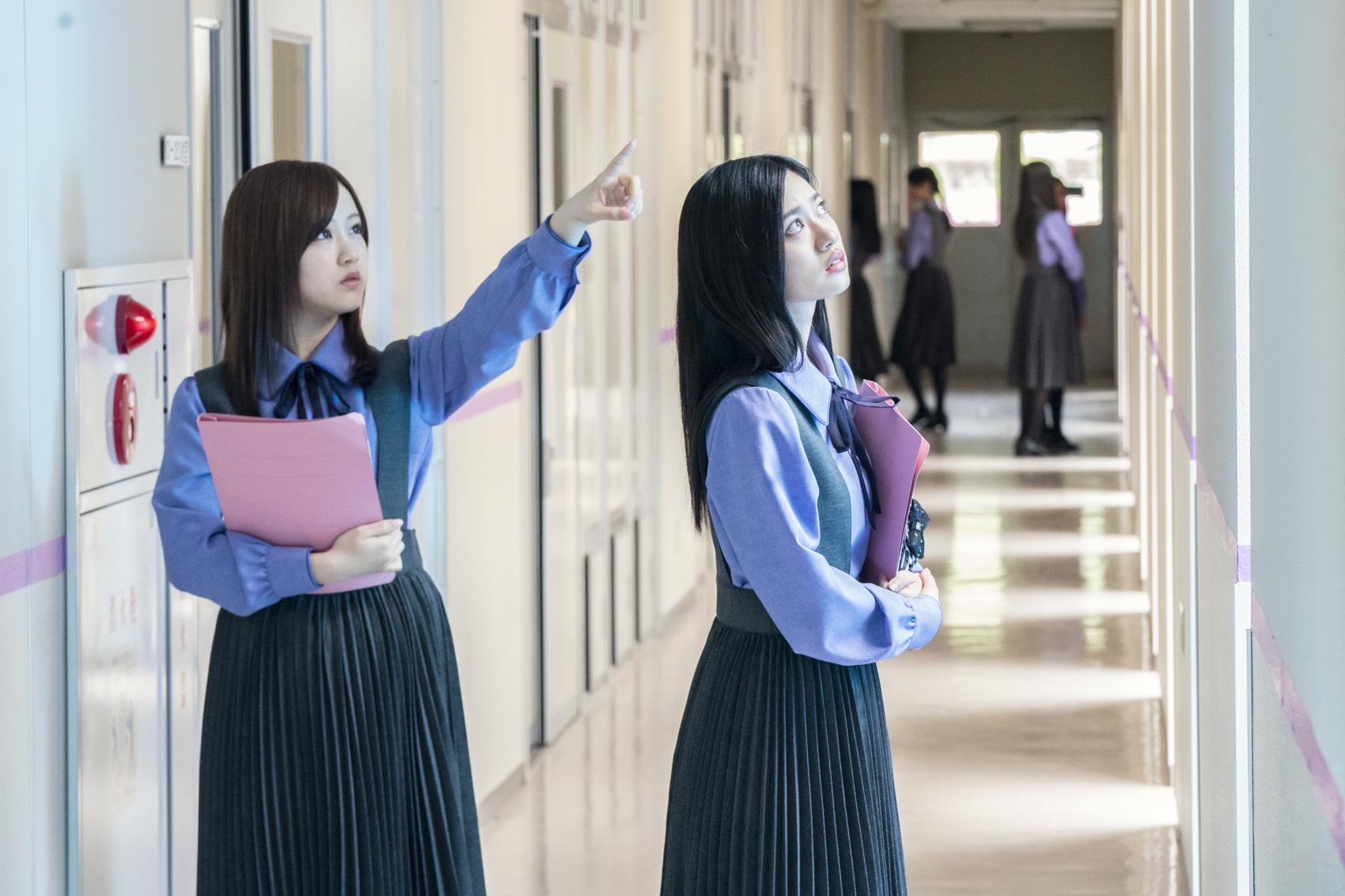 乃木坂46・齋藤飛鳥の主演ドラマ『ザンビ』 天井裏に引きずり込まれる ...