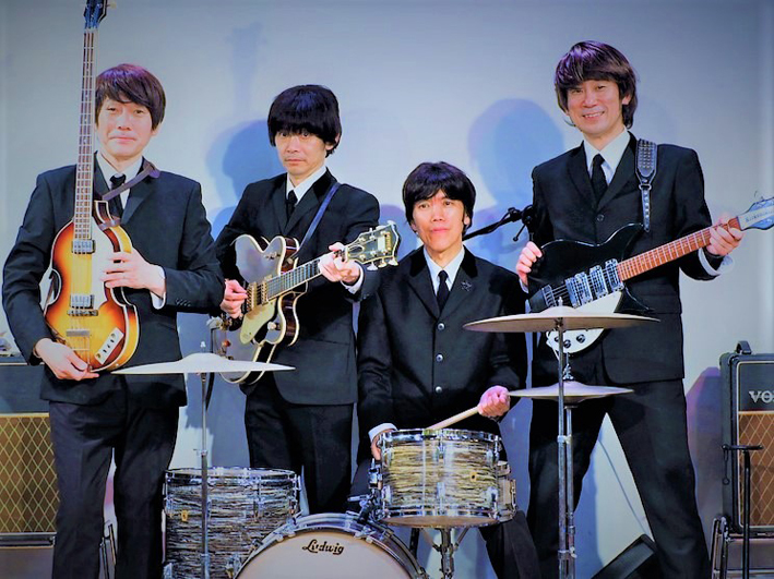 THE BEATMASTERS as THE BEATLES
