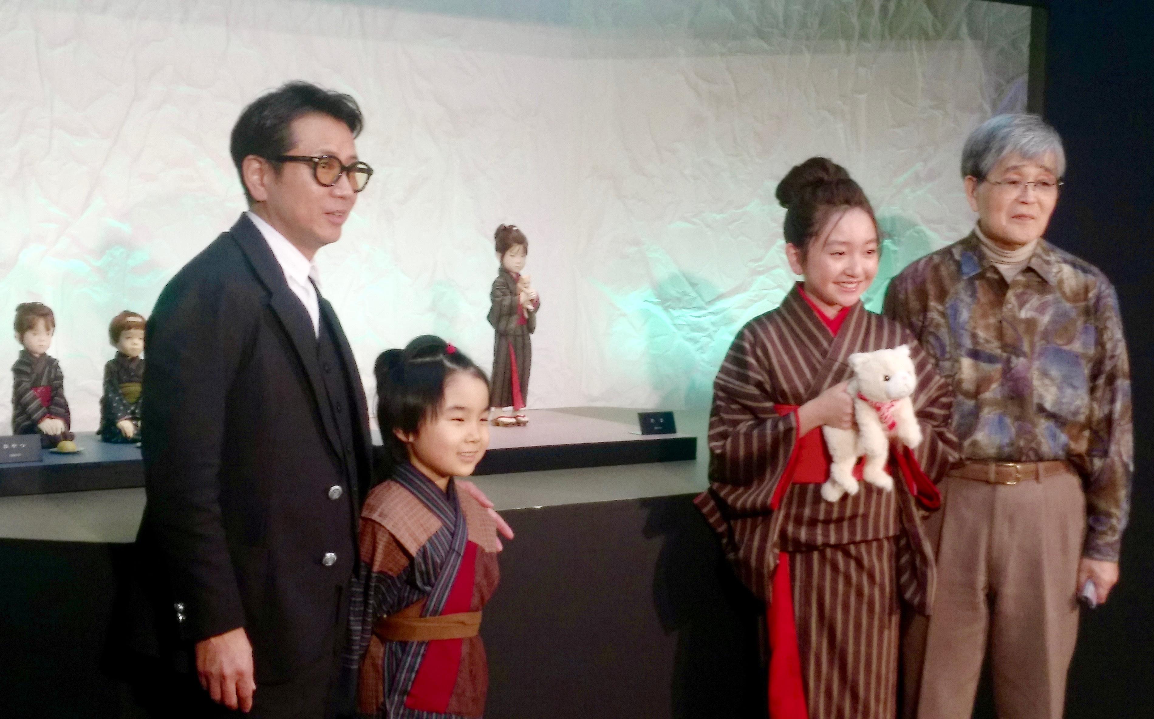 (左から)藤井フミヤ、寺田 心、谷 花音、与 勇輝